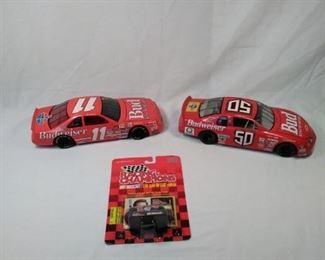 lot of three Nascar / Budweiser collectible cars. including Robby Gordon https://ctbids.com/#!/description/share/152077
