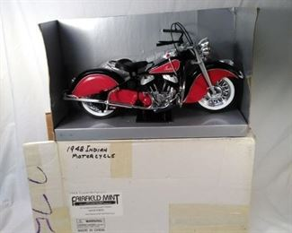 1948 Indian Motorcycle replica Fairfield mint https://ctbids.com/#!/description/share/152081
