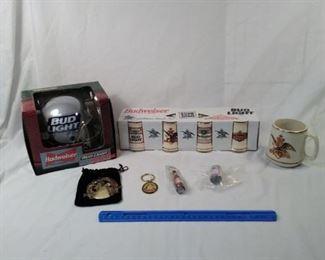 lot of 7 Anheuser-Busch Budweiser collectible items   https://ctbids.com/#!/description/share/152110