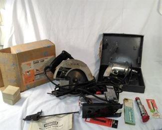 lot of 3 tools. Craftsman sabre saw, Craftsman circular saw, drill https://ctbids.com/#!/description/share/152123