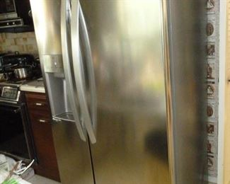 LG Stainless Side-by-Side