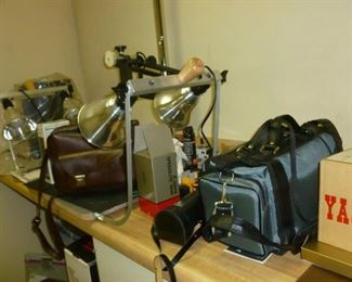 Vintage Camera & darkroom items