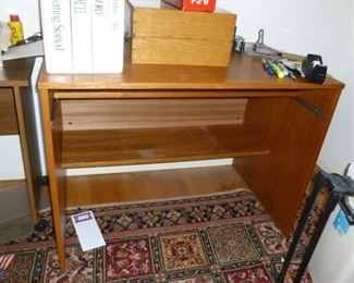 Another part of the desk