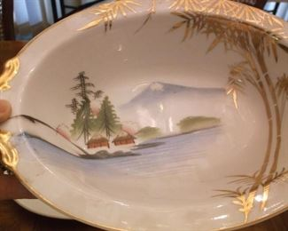 Hand painted china from Japan