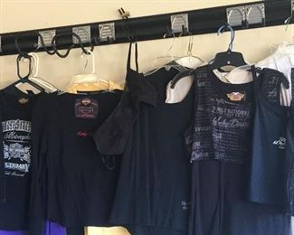 Large Collection Of Harley Davidson Apparel, Leather Jackets, Vest, Jewelry & Accessories....anything you can think of!!!