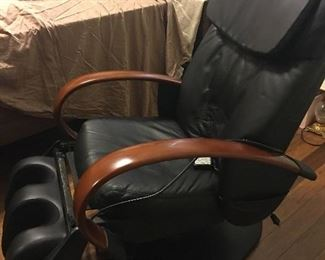 Leather Luxury Full Body Massage Chair with Remote
