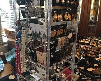 Over 200 Pairs of Sterling Silver Earring & Designer Earrings (Some Vintage Clip Ons Also)