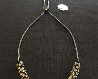 Gorgeous Backwards Backdrop Necklace - Great for Weddings  and Prom!!!