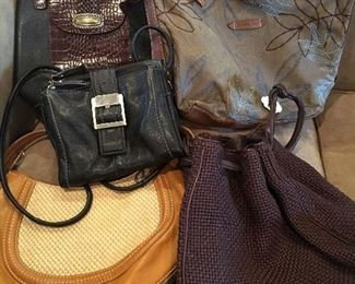 Large Collection Of Designer Purses