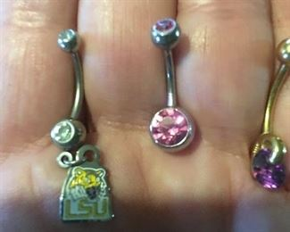 Over 10 Belly Rings        10K Gold Or Sterling Silver