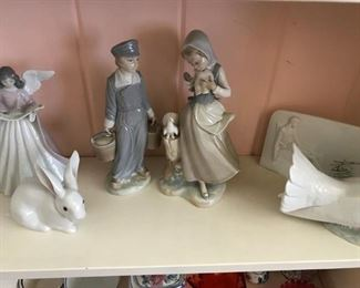Lladro pieces