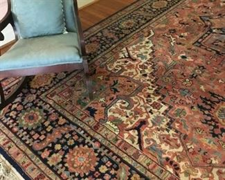 Large carpet:  14x10. Karastan, 100% wool