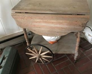 tea cart ready for painting