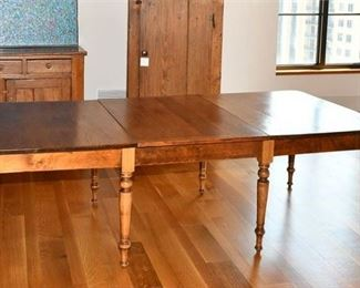 3. Antique Pine Banquet Table
