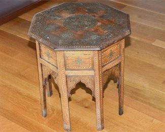 6. AngloIndian Folding Table