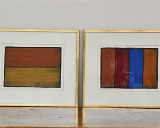 23. Pair of Watercolors by Christopher Birt Canadian