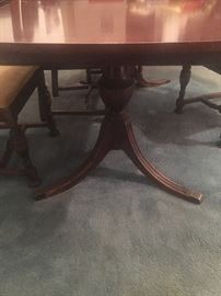 Dining room table (part of set)