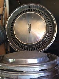 60's Oldsmobile hubcaps