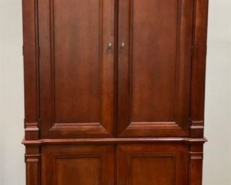 Wonderful Armoire - not like your run of the mill one, either - this has great lines and is well-crafted
