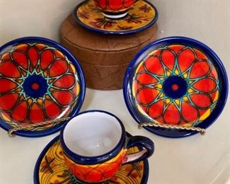 These are great looking plates and cups & saucers!