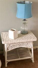 Nice side table and lamp