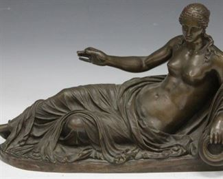 LOT #5017 - BARBEDIENNE (1810-1892), FRENCH BRONZE STATUE