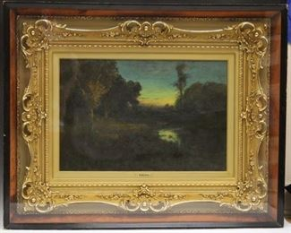 LOT #5050 - WILLIAM KEITH (1838-1911), OIL ON CANVAS