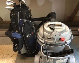 Shop- Vac 16 gallon/6.5 hp and kids clubs