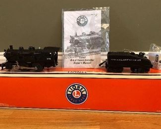 New In Box!       202 Tallulah Falls RR                          2004   Lionel Train made in Chesterfield, MI