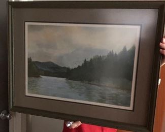 Original Tom Landreth Painting         104/300        'Burton Remembered'