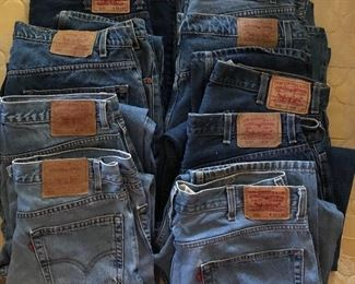 Just a few pair of Levis's we have found...there are more and lots of men vintage bell bottoms!