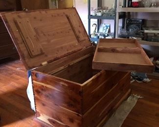 Another fine cedar chest!