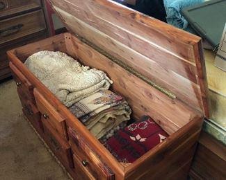 Cedar chest full!
