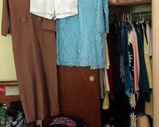 Vintage women's clothes