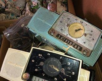 Vintage clocks...