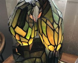 Parrot Light up lamp
