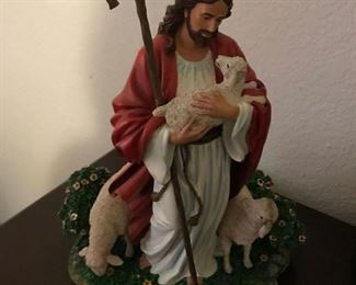 The Good Shepherd figurine