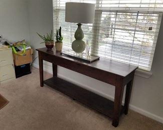 Sofa table/Entrance very versatile piece $165