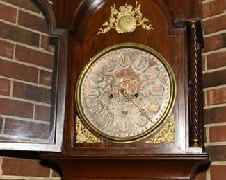 antique grandfather's clock