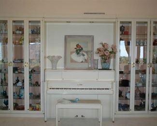 Steinway Studio Piano Original Finish. Ivory Keys