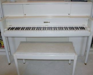 Steinway- Studio Piano circa 1970's - Original Finish - Ivory Keys
