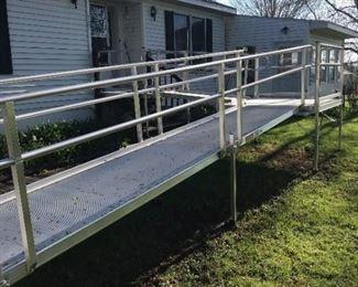 50' Handicap Aluminium Ramp