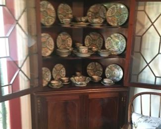 Cabinet sold.  Beautiful set of china available.