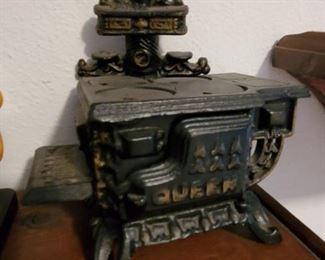 mini iron stove
