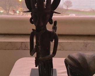 Bronze African Sculpture Yoruba Eshu