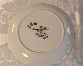 """LENOX ORCHARD IN BLOOM PEACH BLOSSOM 11"""" DINNER PLATE SET CATHERINE MCCLUNG"""