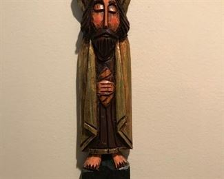 Wood carved Jesus Spain