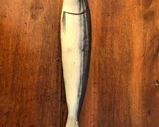 Ceramic sardine by Jay Wilfred/Portugal