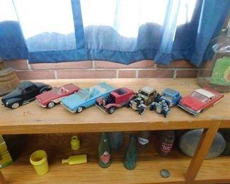 Vintage Model Cars