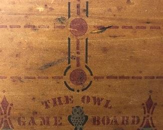 The owl game board Chicago